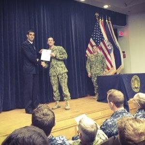 Florida, il record del palombaro salernitano entrato nella storia della U.S. Navy