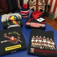 Potenza Calcio mania, impazza il merchandising