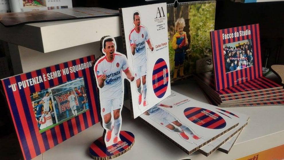Ecco il merchandising del Potenza Calcio