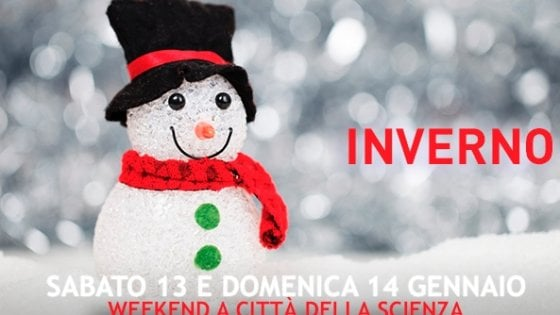 Festa d'inverno a Città della Scienza: protagonista è la neve