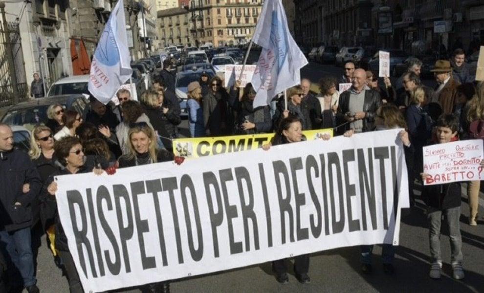 Movida, cittadini in piazza per chiedere più sicurezza