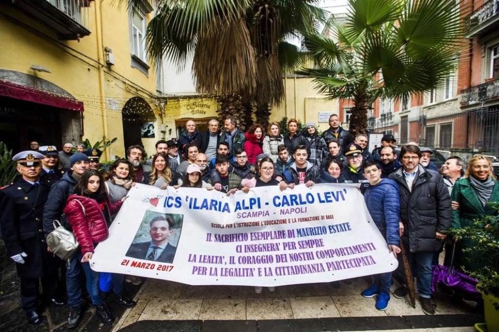Maurizio Estate, 25 anni dopo il suo omicidio una lapide ricorda il suo sacrificio