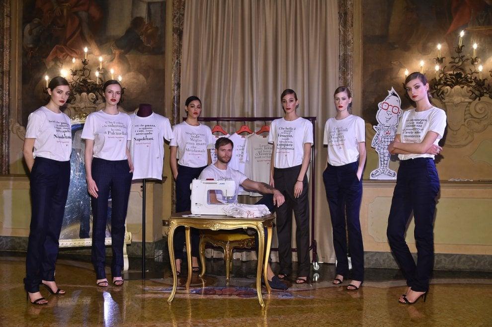 O Vesuvio, lavali col fuoco: contro gli insulti anti-napoletani una linea di maglietta ironiche