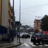 Maltempo, voragine ad Avellino