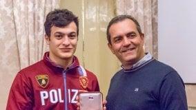 Il sindaco de Magistris premia Parlati