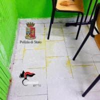 Fuorigrotta, versano acido in un istituto: 3 giovani bloccati dalle forze dell'ordine