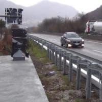 Entra in funzione l'autovelox sul raccordo Avellino-Salerno, è già polemica