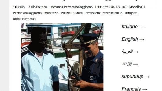 Questura Di Napoli Ufficio Immigrazione Ritiro Permesso Di Soggiorno