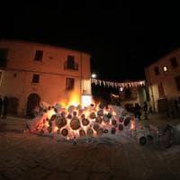 Potenza, a Trivigno torna la tradizione dei fuochi di Sant'Antonio Abate