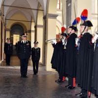 """Carabinieri, il generale Tomasone in visita alla """"Pastrengo"""""""
