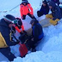 Roccaraso, una slavina travolge due sciatori napoletani: erano fuoripista