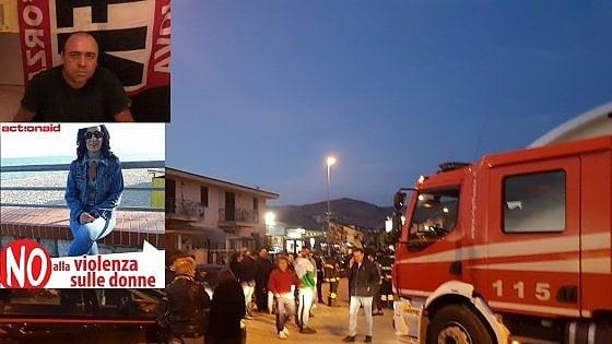 Terrore nel Casertano: uccide la moglie, fa fuoco sulla folla e poi si suicida