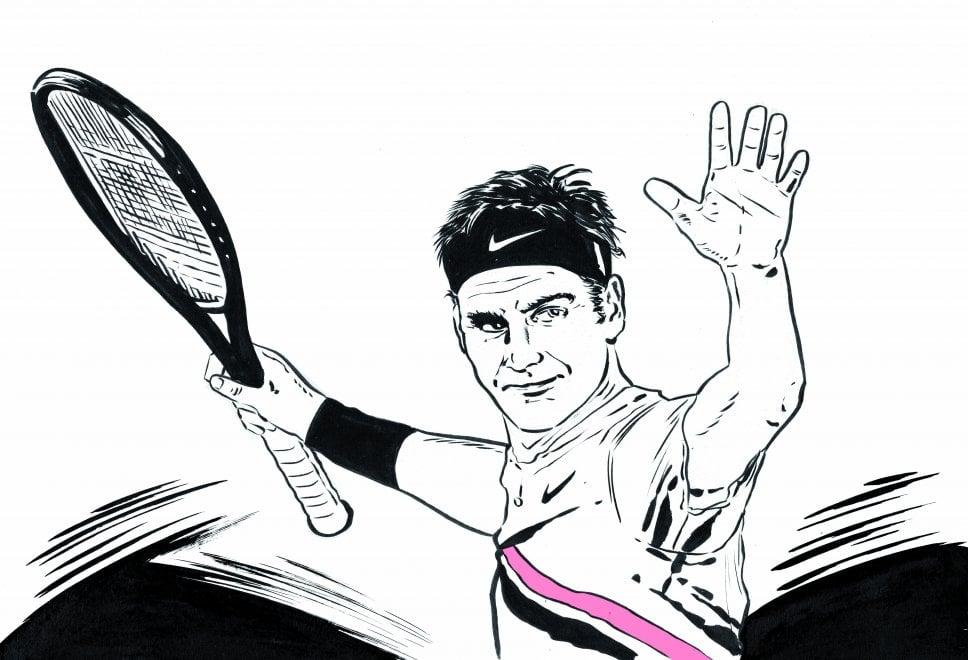 Federer eterno, 20esimo titolo Slam nel tennis, il tributo di Ruggiero