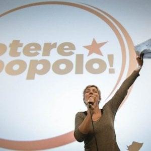 Potere al Popolo, ecco la lista dei candidati per la Campania
