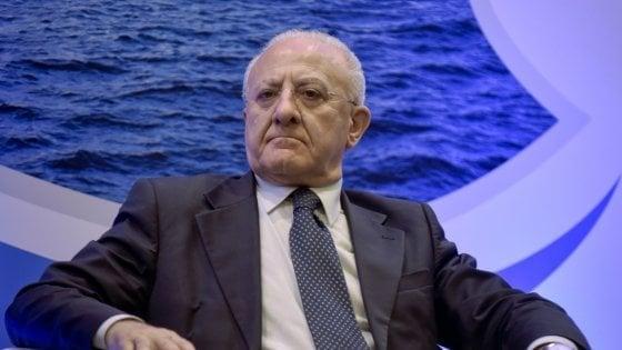 """De Luca: """"Rai 3 strumento di demagogia"""". L'azienda: """"Toni inaccettabili e strumentali"""""""