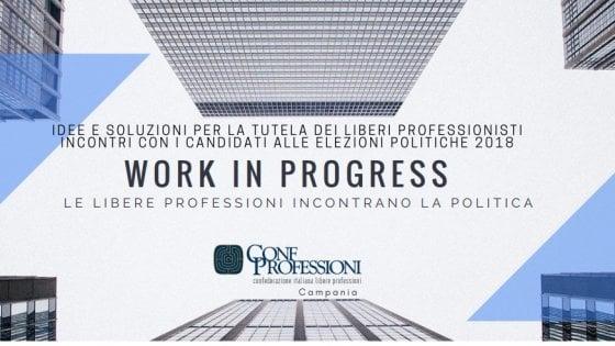 """Confprofessioni Campania incontra la politica: """"Idee e soluzioni per tutelare i liberi professionisti"""""""