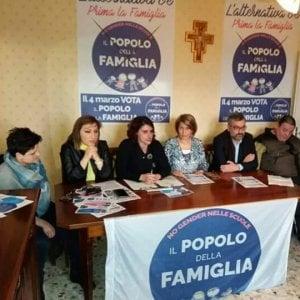 Potenza, politiche 2018: Il Popolo della famiglia presenta i candidati lucani