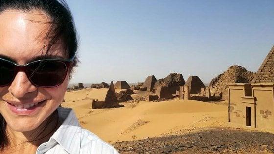 Da Ischia al Sudan, l'archeologa che interpreta la lingua dei Faraoni neri