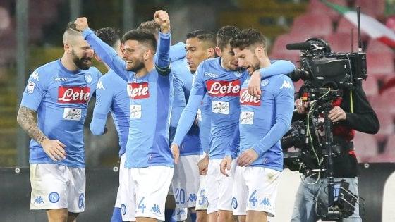 Napoli, secondo il Cies la rosa degli azzurri vale 204 milioni di euro, la Juve 'costa' più del doppio