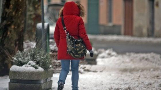 Maltempo: da domani pioggia e neve, in arrivo in Campania il freddo dalla Russia
