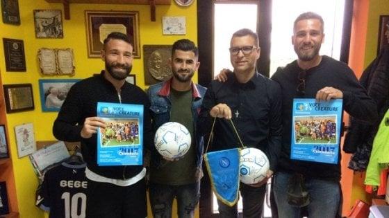 """Un torneo di calcio con le baby gang del quartiere """"Meglio in fondazione che per strada"""""""