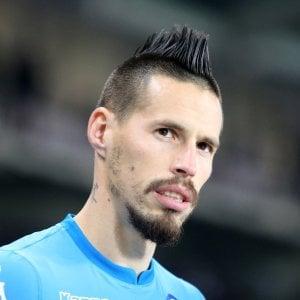 """Napoli, Hamsik ha in testa soltanto lo scudetto. """"Sono sicuro, questa volta tocca a noi. Abbiamo più fame della Juve"""""""
