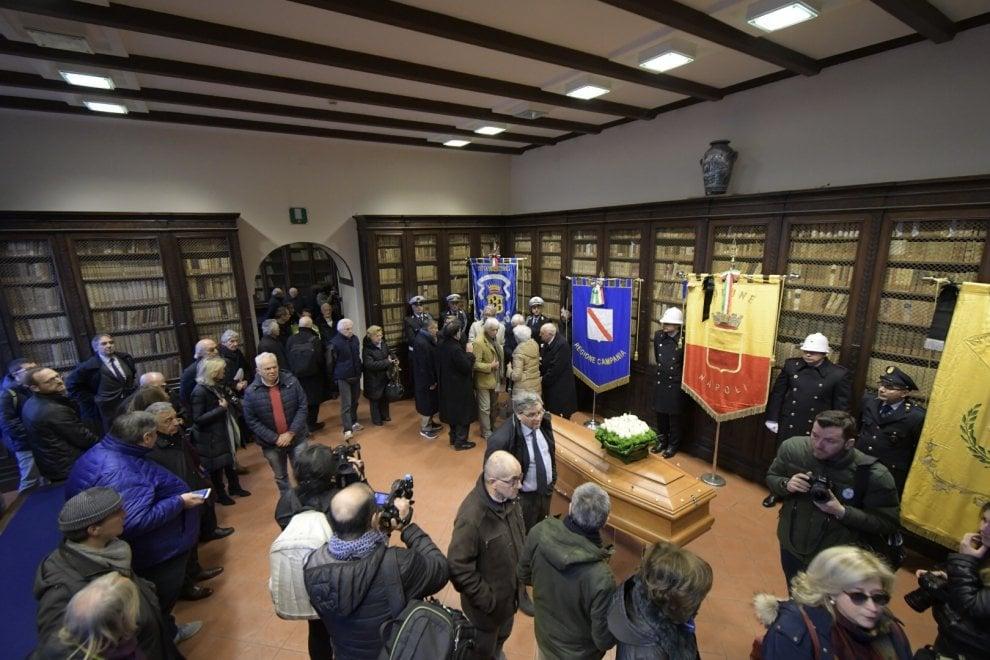 Il funerale di Giuseppe Galasso