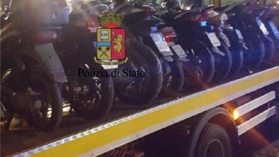"""Blitz contro """"scooter selvaggio"""" nel Rione Sanità: elevate contravvenzioni per circa 10.000 euro"""