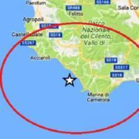 Terremoto, scossa di magnitudo 3.1 nel Cilento, nessun danno