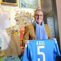 Krol in visita al Museo del Napoli: