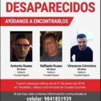 Tre italiani scomparsi da giorni in Messico. La Procura apre un'inchiesta