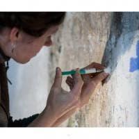 """Ischia, i restauratori di Dresda: """"Così scopriamo le pitture della Torre rinascimentale"""""""