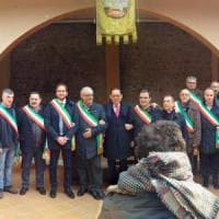 Potenza, manifestazione di solidarietà per il sindaco di Corleto Perticara