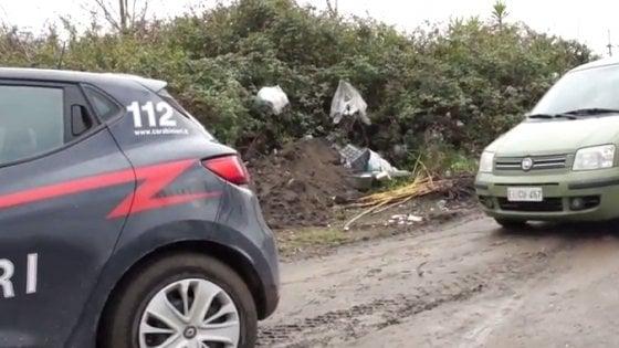 Terzigno: sequestrata un'area di 30 mila metri quadri per smaltimento illecito di rifiuti