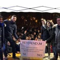 """Potenza, il tour Di Battista fa tappa a Lauria e promuove il """"Pittellexit"""""""