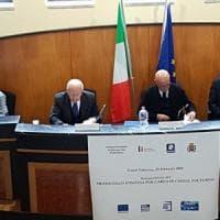 Minniti a Castel Volturno per la firma del protocollo di risanamento dell'area