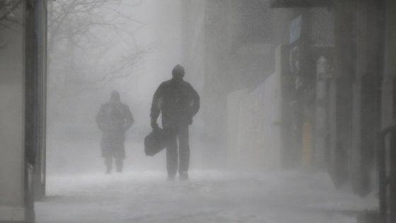 Campania, in arrivo il vento siberiano: calo della temperatura, piogge e temporali