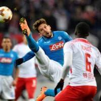 Il Napoli saluta l'Europa League. Ora si guarda al Cagliari