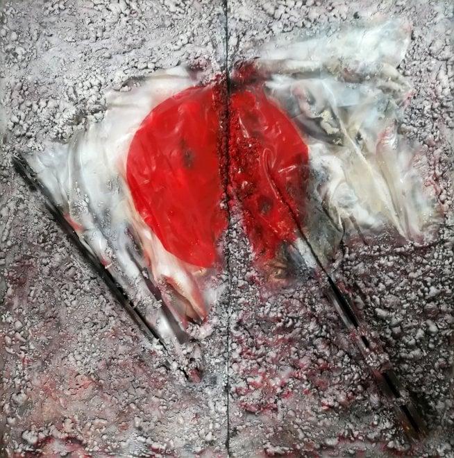 """""""Broken Flag"""", la storia si declina nell'arte di Maurizio Romeo in mostra al Pan"""