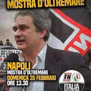 """Forza Nuova a Napoli, la Mostra: """"Da noi nessuna manifestazione"""""""