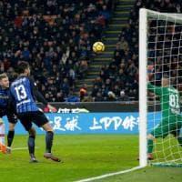 Benevento, che peccato: per più di un'ora mette paura all'Inter poi cede