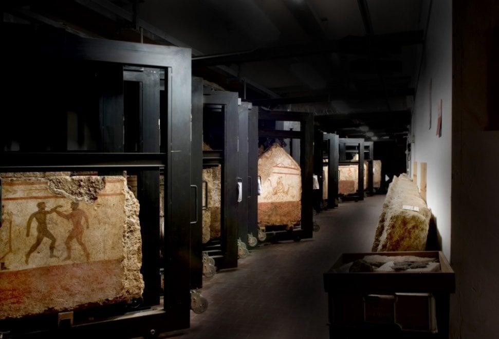 Riaprono ai visitatori i sotterranei del Museo di Paestum