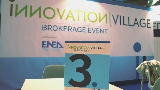 Innovation Village torna alla Mostra d'Oltremare: aperta la piattaforma Brokerage Event
