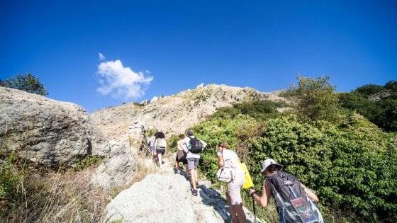 In Costiera a scuola di escursionismo: ecco il corso per aspiranti guide ambientali