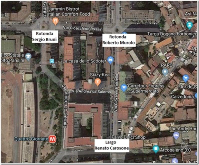 A Napoli tre nuove strade: via Sergio Bruni, via Roberto Murolo e largo Renato Carosone