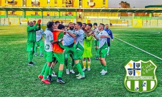 Afro-Napoli a un passo da una storica promozione