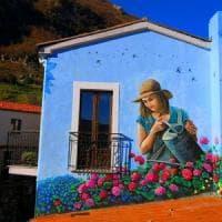 Potenza, la primavera è sui muri di Sant'Angelo Le Fratte