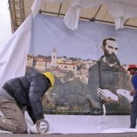 Papa Francesco da padre Pio, attesa e preparativi a Pietrelcina