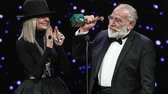 Napoli trionfa ai David del cinema: vincono Manetti Bros, Gatta Cenerentola e Carpentieri, che si commuove