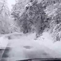 Maltempo: intensa nevicata su Potenza, scuole chiuse